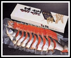 北海道の鮭は、でっかくて美味しい