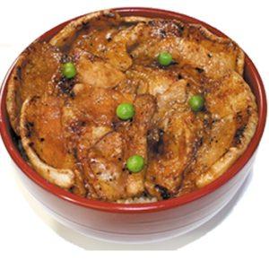 帯広の豚丼 ぶたはげの豚丼